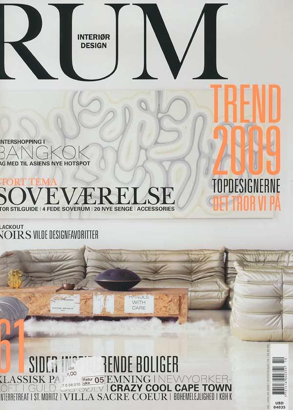 RUM Magazine, DENMARK. Januar 2009